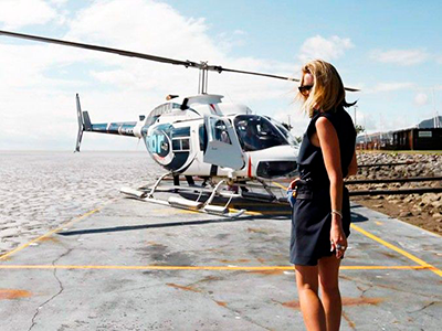 Helicopters in PV - Luxury