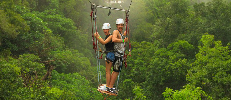 Awesome Hanging Bridges and Zip-Lines